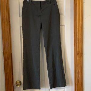 Grey herringbone patterned women's size 2 pants